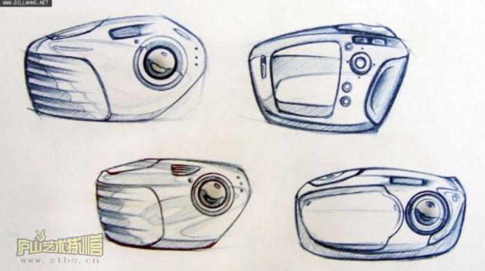 马克笔手绘的作品 - 手绘-工业设计-产品设计