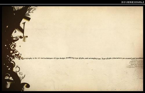 文字排版设计欣赏 字体 高清图片