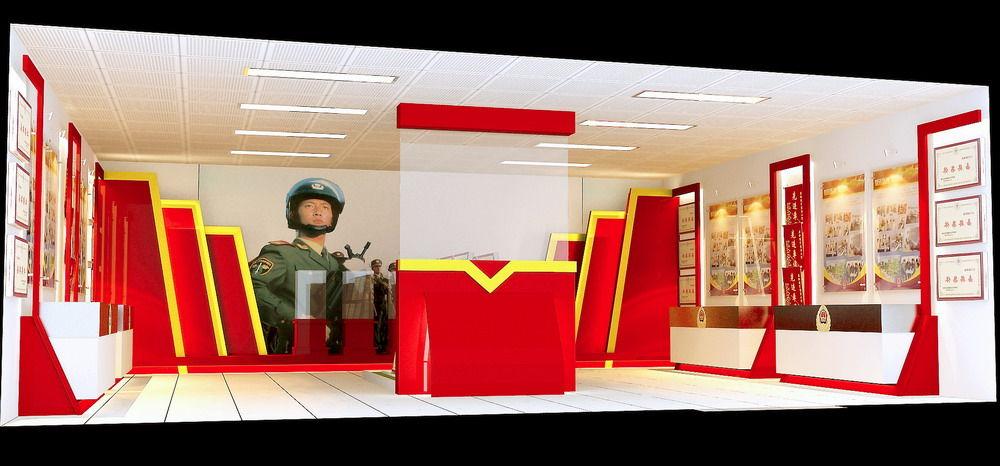 边防荣誉室3套方案 高清图片