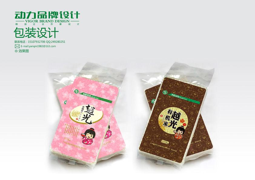 糧油大米食品包裝設計案例-農作物包裝-食品零食