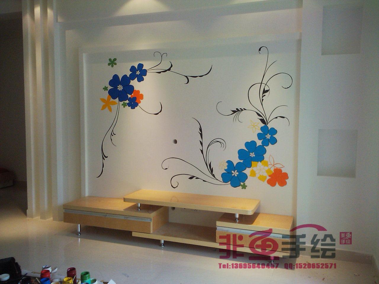墙体彩绘】六安幼儿园