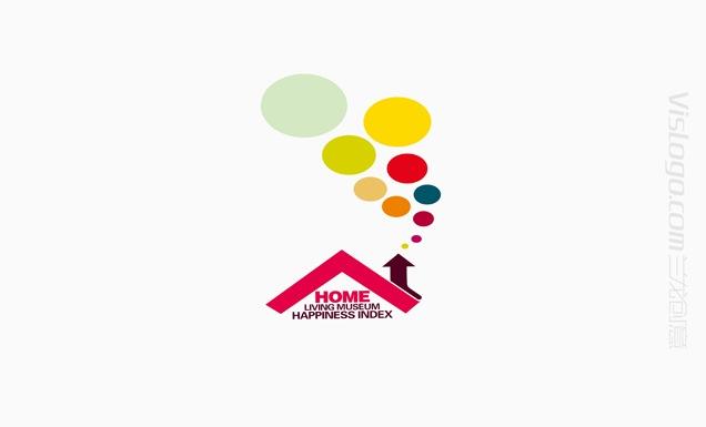 幸福指数居家标志设计VI设计3.jpg