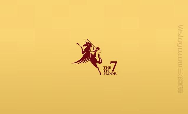第七楼娱乐会所标志设计2.jpg