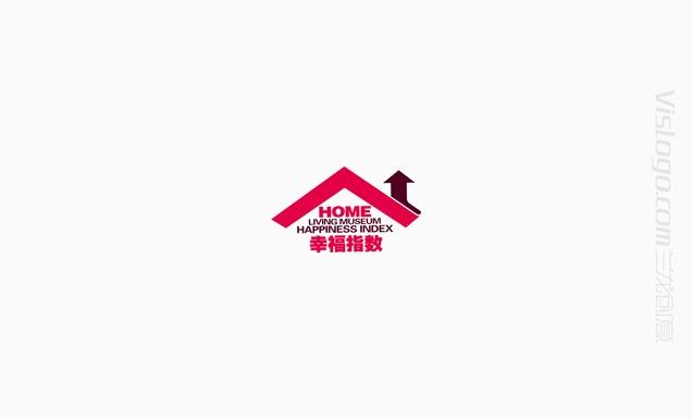 幸福指数居家标志设计VI设计2.jpg