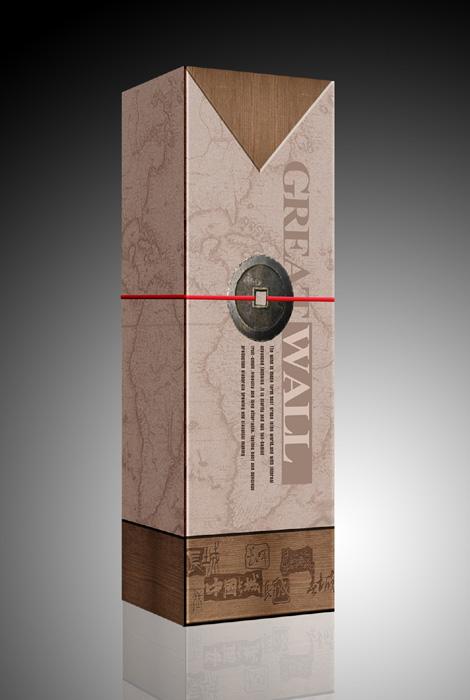 红酒包装盒设计_酒类_包装
