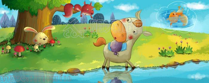 简单的动物图画 简笔画动物图画大全 卡通动物手绘