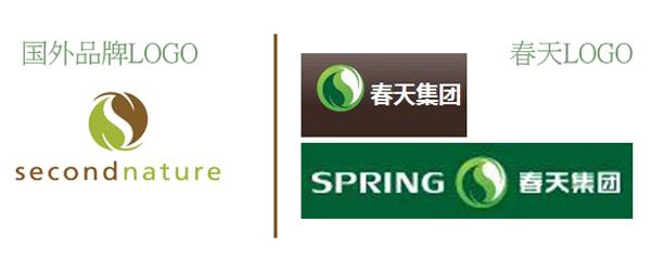 春天集团(永康)logo涉及严重抄袭