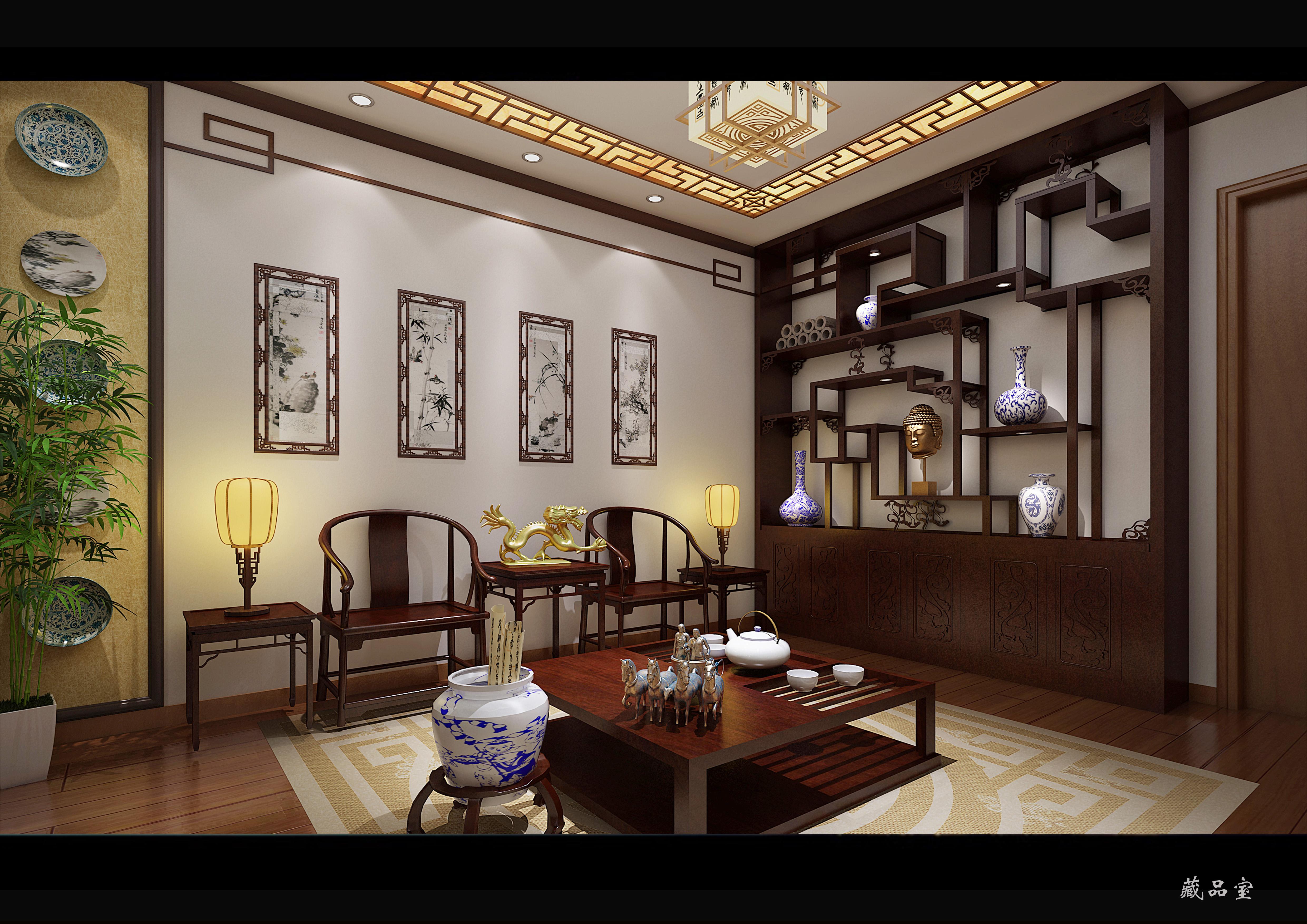 中式设计_室内设计_空间/建筑_原创设计 第一设计网