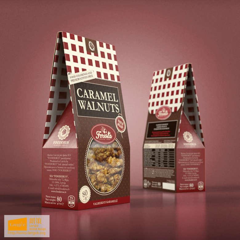 出口堅果包裝設計_食品