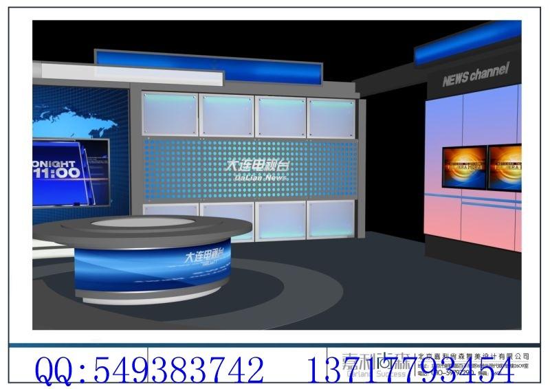 电视台演播室效果图 综合 其它 空间设计 第一设计网 全球