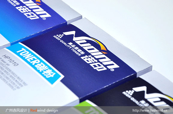 赤风最新设计作品 诺印品牌文具用品包装盒设计