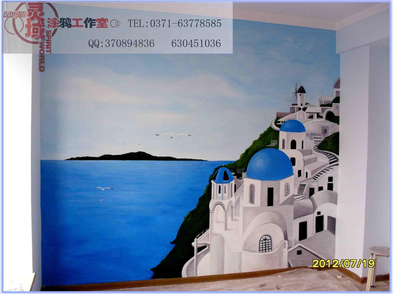 墙体彩绘,手绘墙,彩绘,幼儿园彩绘_涂鸦|潮流_插画