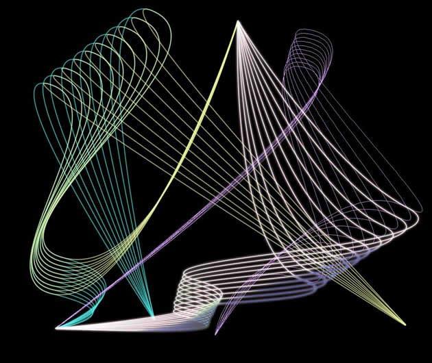 用PS做出常见的网状效果