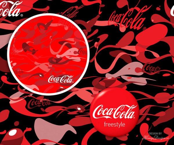 Coca Cola Freestyle 别注迷彩设计5.jpg