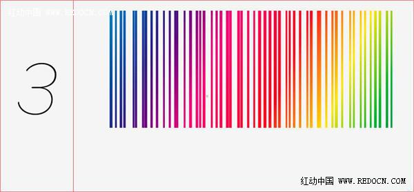 这次转载分享的ai教程是学习如何绘制酷炫的彩色背景,整个教程基本上是利用了一个复制的效果,复制长的矩形框,然后通过渐变调色制作七彩的效果,过程并不繁琐,大家不妨学习看看。 具体绘制步骤如下: 绘制长矩形,移动适当距离并按下Ctrl+D,将其平铺开,效果如图。