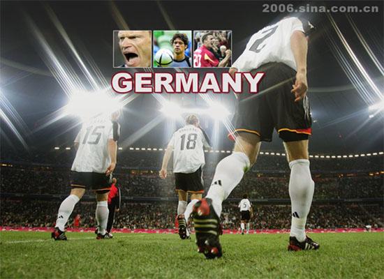 德国2006世界杯主题海报