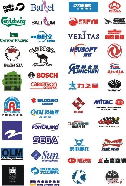 我收藏的世界各国logo图片