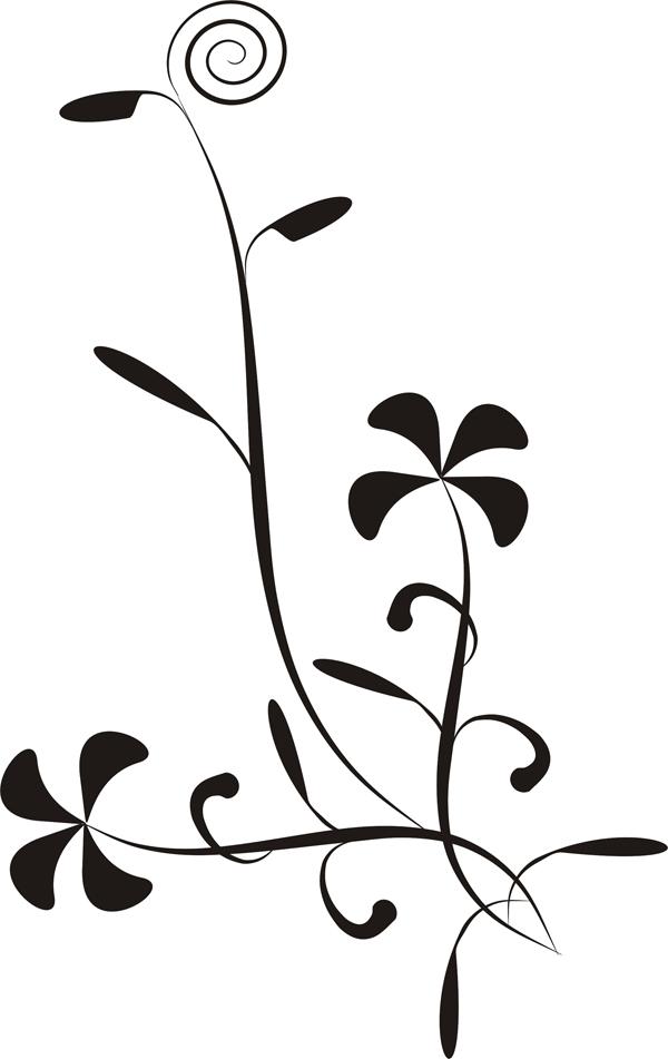 漂亮的花边笔刷_ps笔刷/样式/滤镜/插件_素材下载_ 网