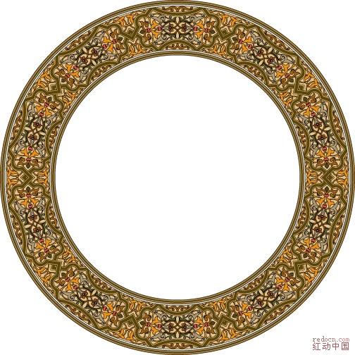 大全 蒙古 族 边框 图案 大全 手绘 简单 边框 素材