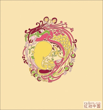 服装装饰纹样 花纹图案 设计元素下载区 设计图片 红动设计 全球人气最