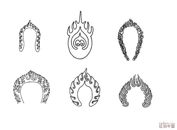 四种动物简笔画