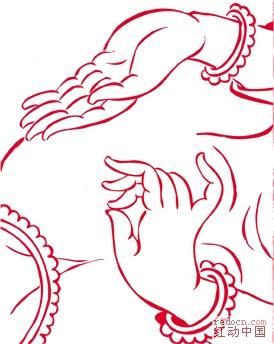 兰花指设计手绘