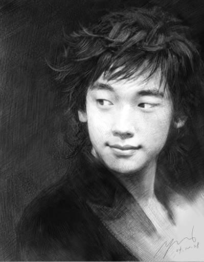 吴瑞发画廊:明星素描 - yanchun3 - 韵美斋