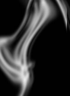 photoshop做烟雾