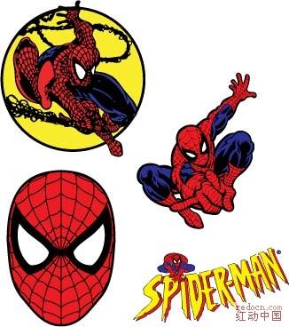矢量蜘蛛侠下载_矢量素材_素材下载_资讯娱乐 专业网