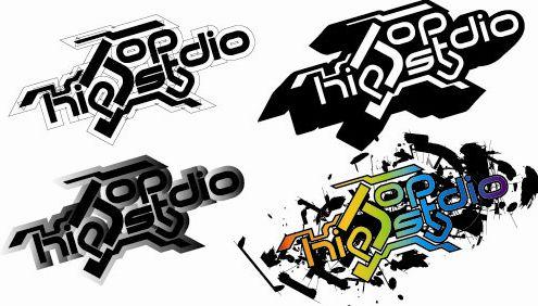 嘻哈風格的logo和宣傳海報!更新一些東西[推]