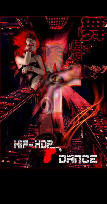海報尺寸一般多-街舞比賽個人宣傳畫 大家多指點