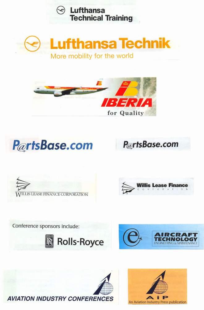 各国航空飞机标志