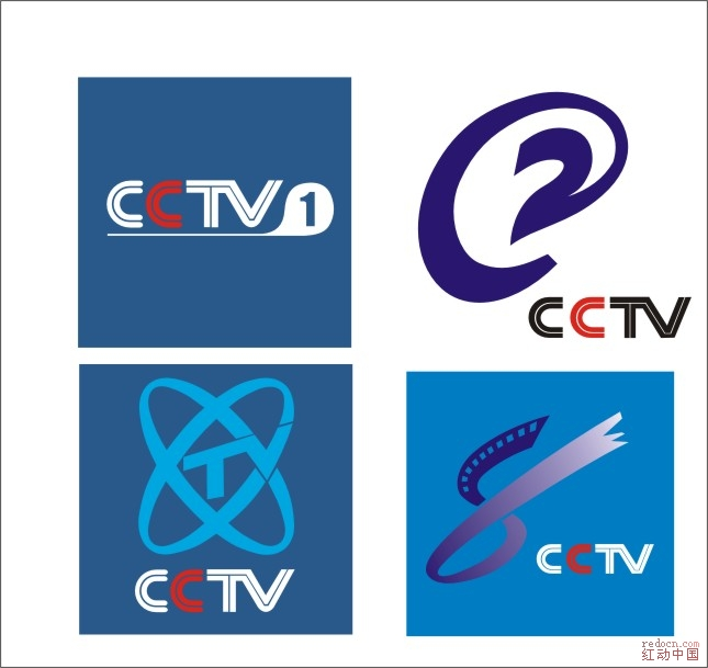 中央电视台logo_矢量素材