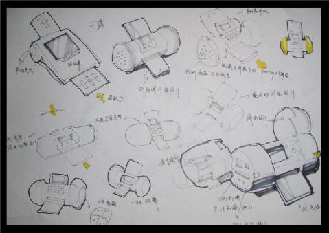 草图效果图 三维作品 佳作欣赏 工业设计 产品设计 第一设