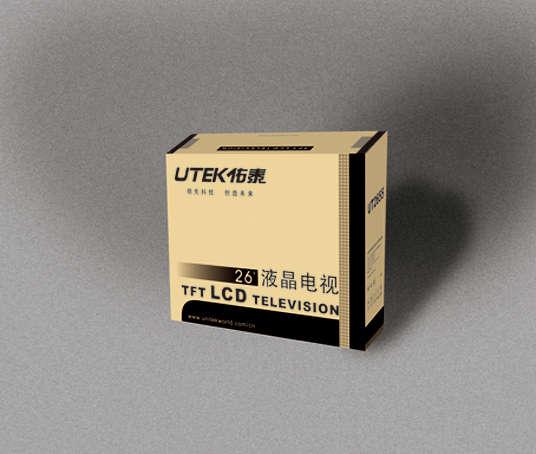 液晶电视显示器电器包装纸箱设计