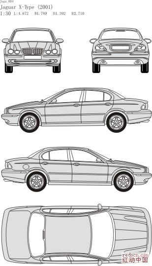 标题: bmw 汽 车黑白矢量图  版块:回收帖wxlong2007-1