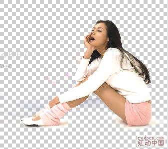 人物写真ps素材 韩国美女海报