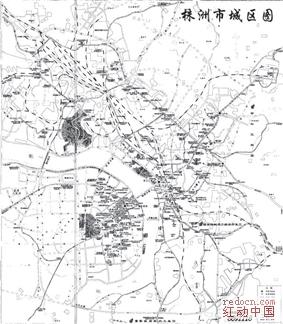 湖南省株洲市城区地图
