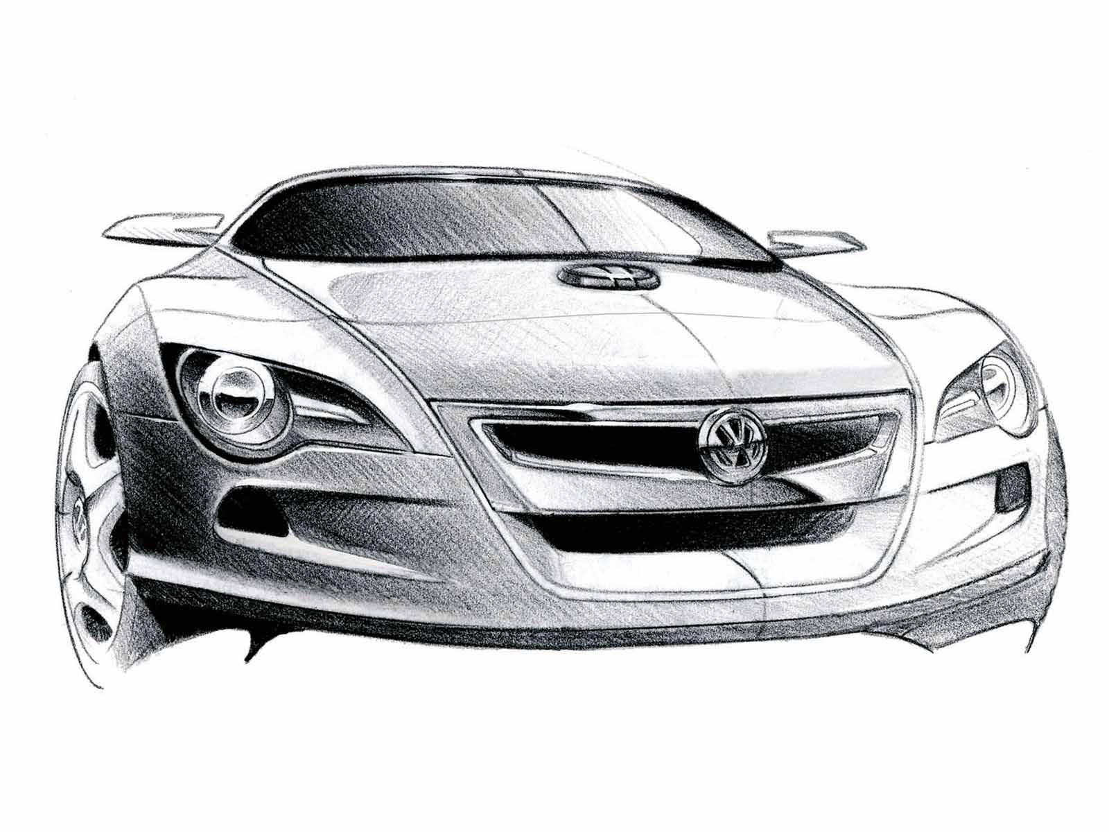 汽车手绘草图总汇 300多p 上传完毕 手绘 工业设计 产品设
