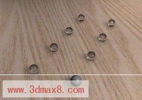[3D MAX] 光线跟踪的玻璃材质-光线跟踪的玻璃材质图片