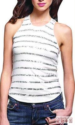 08年最新女装流行T恤
