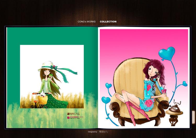 喜之郎CICI包装插画1.jpg