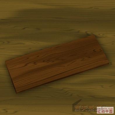 ps--一分钟做-------木头纹理小教程