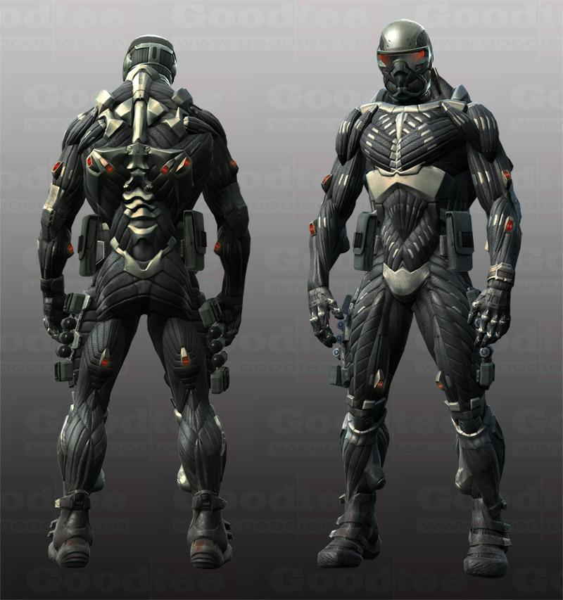 crysis《孤岛危机》3d游戏巅峰巨作 高清晰jpg 纳米作战服图片