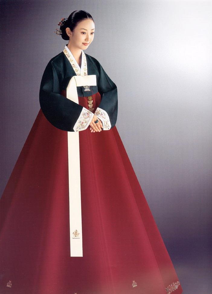 朝鲜族服饰展示 - 倾城之恋 - 倾城之恋