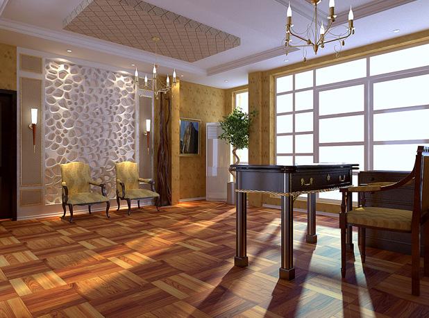 家庭厨房套间装修-欧式家居 公寓套房 家装设计 空间设计 三维区高清图片