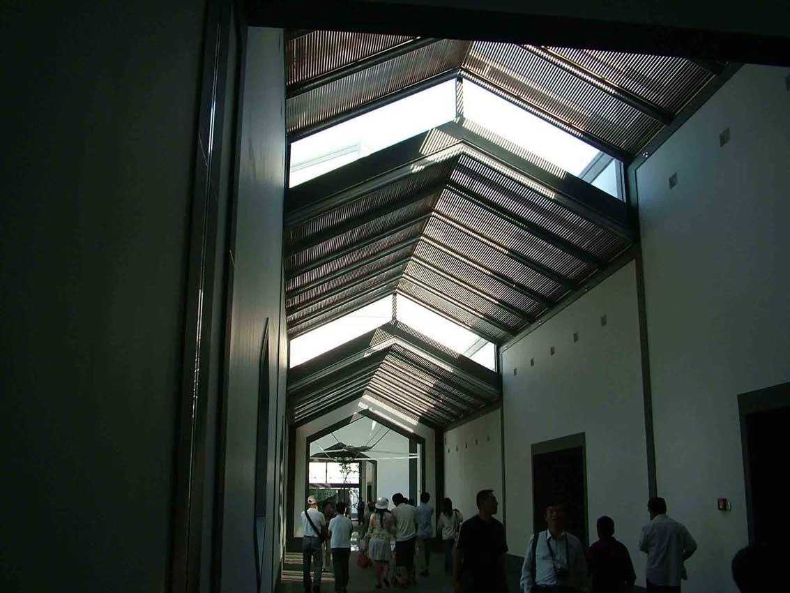 建筑大师贝律铭苏州博物馆建筑设计