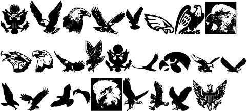 要又求鹰或者鹰头的简笔画