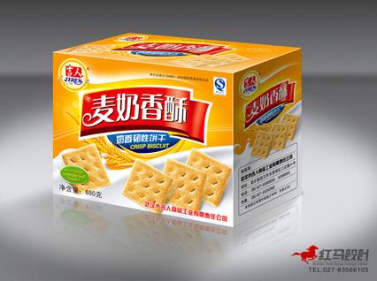 饼干面包包装设计_其他广告
