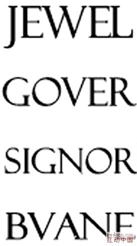 实用的 英文 字体 标题: 漂亮的 英文小